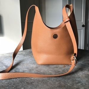 Tory Burch Cognac Perry Small Hobo *NEW*